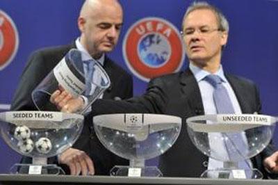 Сегодня состоится жеребьевка Лиги чемпионов и Лиги Европы