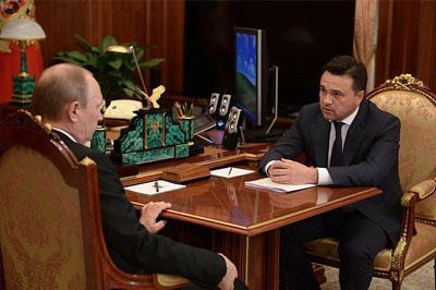 Путин одобрил создание метро между городами Подмосковья