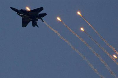 Израиль нанес авиаудар по позициям сирийской армии