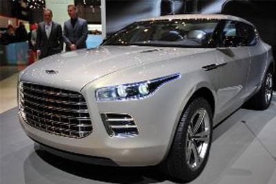«Aston Martin» показала фотографии новой «Lagonda»