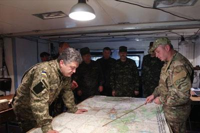 Порошенко принял детальный план освобождении Донецка и Луганска
