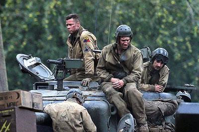 На лондонском фестивале будет представлен фильм Брэда Питта «Ярость»