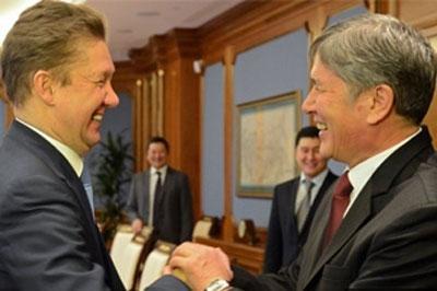 Россия построит в Киргизии газопровод ценой в 45 миллиардов рублей