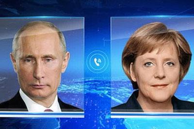 Несмотря на санкции, Меркель продолжит диалог с Путиным