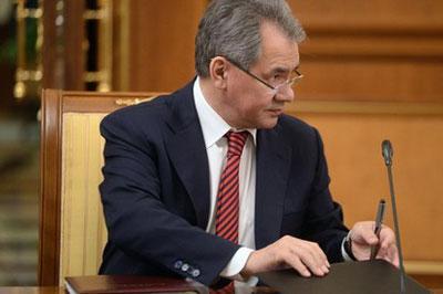 Сергей Шойгу обеспокоен активизацией сил НАТО на границе России