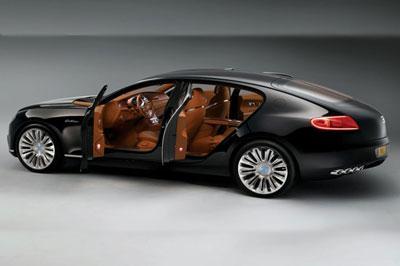 «Bugatti» хочет создать самый мощный седан