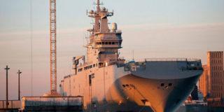Россия планирует получить первый «Мистраль» в ноябре
