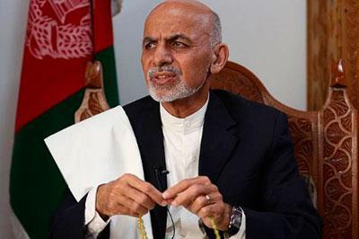 На президентских выборах в Афганистане выиграл Ашрафа Гани