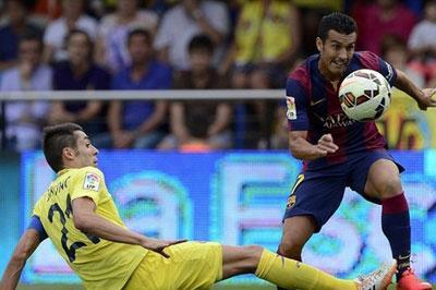 «Барселона» выиграла у «Вильярреала»