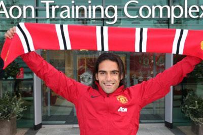 Радамель Фалькао прокомментировал свой переход в «Манчестер Юнайтед»