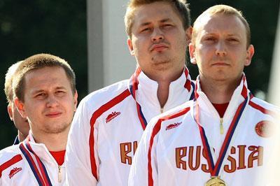 Владимир Гончаров взял бронзу на чемпионате мира