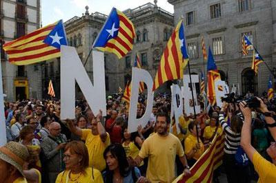 Конституционный суд приостановил подготовку к референдуму о независимости Каталонии