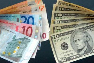 Рубль преодолел отметку в 45 рублей за доллар