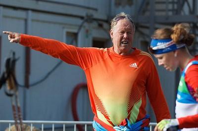 Биатлон. Тренировка женской сборной России
