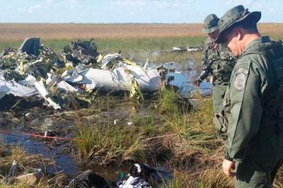 Венесуэла сбила самолет, нарушивший воздушное пространство страны