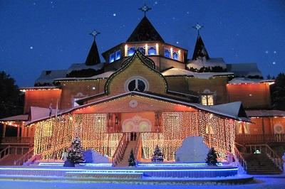Вечерняя Вотчина Деда Мороза