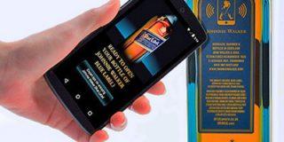 Этикетки от бутылок с виски смогут передавать информацию владельцами смартфонов