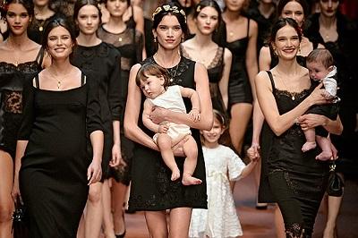 Dolce & Gabbana - Runway RTW - Fall 2015 - Milan Fashion Week