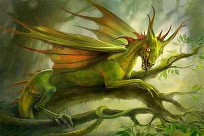 К чему снится красный дракон женщине