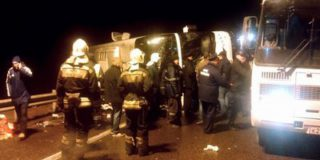 В ДТП с автобусом Москва-Донецк погибли четыре пассажира