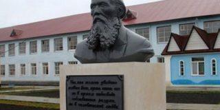 Рядом с храмом при мордовской тюрьме открыли памятник Достоевскому