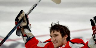 Александр Овечкин побил рекорд Сергея Федорова, забив 484 шайбы