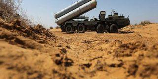 На территории Сирии появились российские зенитные установки