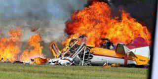В Огайо потерпел крушение небольшой частный самолет