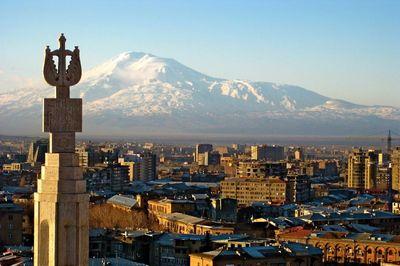 Mount-Ararat-from-Yerevan-Armenia-Wallpaper
