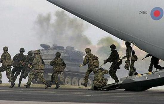 ВС Великобритании готовятся к войне между Россией и НАТО