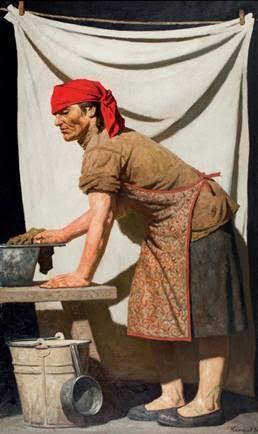 В Третьяковской галерее начала работу первая масштабная экспозиция Гелия Коржева