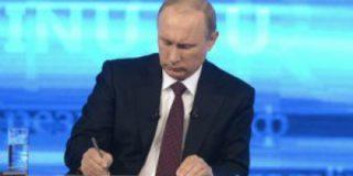 Путин обязал кандидатов в депутаты лично участвовать в теледебатах