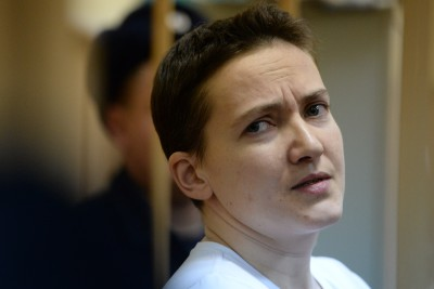 Надежду Савченко приговорили к 22 годам лишения свободы