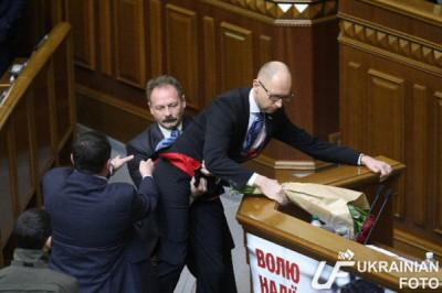 Яценюк предложил замену себе после отставки