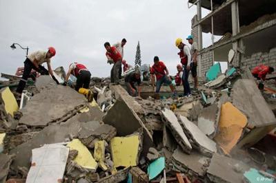 Землетрясение в Эквадоре: двое суток под руинами