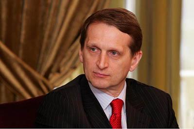 Сергей Нарышкин считает невозможным присутствие наблюдателей ПАСЕ на выборах в Госдуму