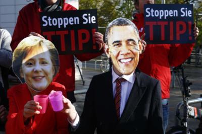 Переговоры о зоне свободной торговли между США и Европейским Союзом оказались под угрозой