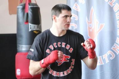 В бой с Путиным на груди - пошёл боксер из Донецка