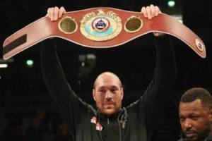 Тайсон Фьюри утверждает, что оставит ринг - после боя с Владимиром Кличко