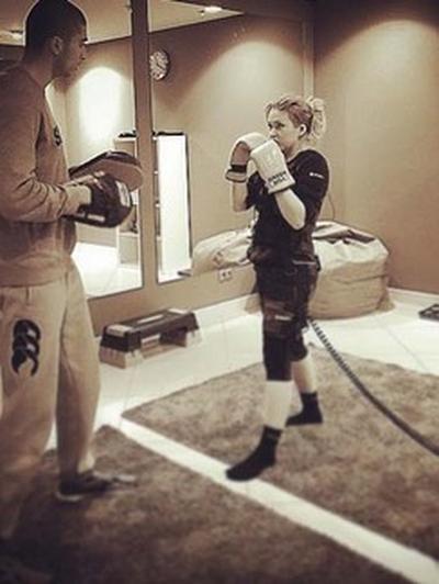 Абсолютно мужской вид спорта помогает Дубцовой быть в форме