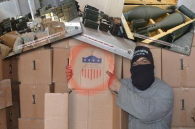 Вертолеты ВВС США вновь промахнулись – оружие попало к террористическим группировкам