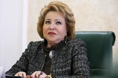 Валентина Матвиенко призвала русских не замусоривать родной язык