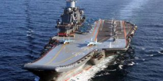 Палубная авиация российского авианосца примет участие в боевой операции в Сирии