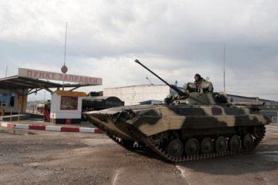 На российской военной базе в Таджикистане учебная тревога