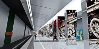 В метро нашли место для новейшего дизайнерского решения на основе стереоэффекта