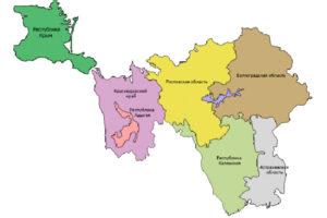 Крым присоединен к Южному Федеральному округу России