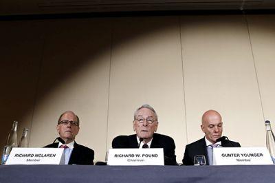 Сегодня был опубликован отчет о двухмесячном расследовании независимой комиссией ВАДА