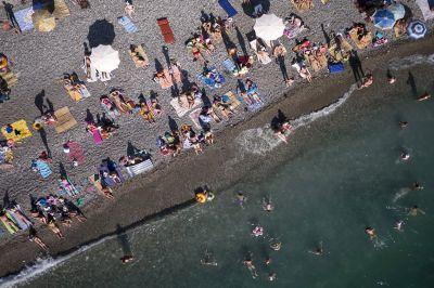 На пляжах столицы беспилотники будут докладывать о ситуации
