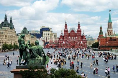 В список выдающихся достопримечательностей европейского континента вошла Красная Площадь и Эрмитаж