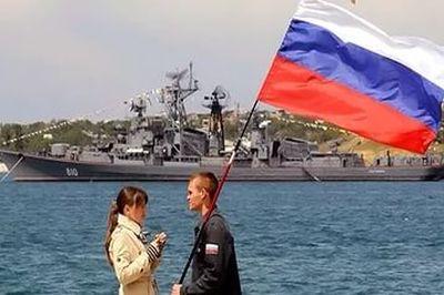 Крым уже российский, признался журналистам первый президент Украины